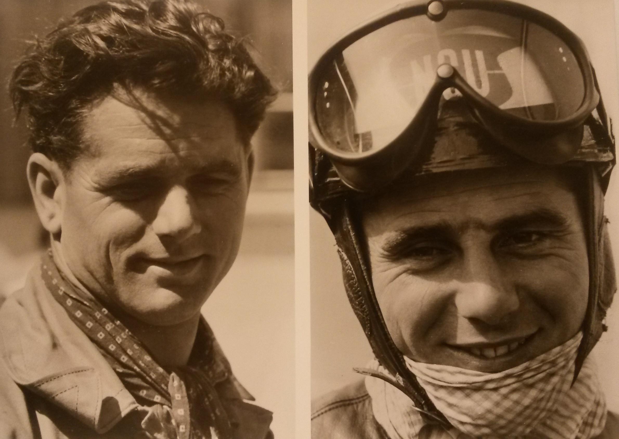 Otto und Werner Haas